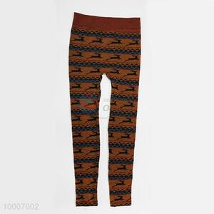 Wholesale Jacquared Weave Ninth Pants