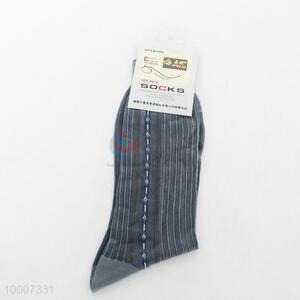 Wholesale Fashion Black Chinlon Sock For Men
