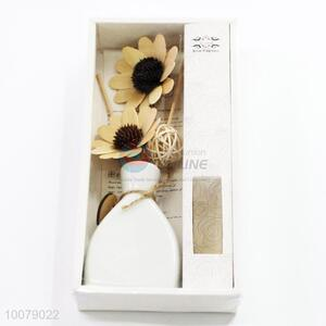 Home Fragrance Reed Diffuser With Flower Sticks