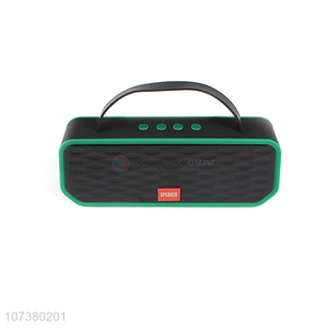 High Sales Mobile Phone Bluetooth Connect Portable Wireless Speaker With TF Card FM Radio AUX USB