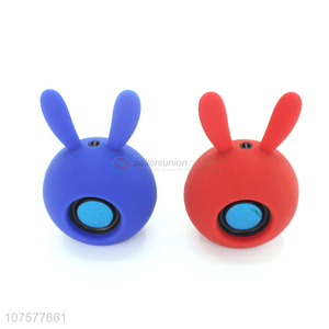 Hot sale portable wireless stereo rabbit bluetooth speaker for mobile phones
