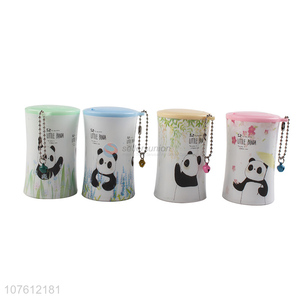 Cartoon Panda Pattern Wet Wipes Portable Cleaning Wipes
