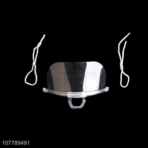 Top Quality Anti-Fog Plastic Mask Transparent Mouth Shield