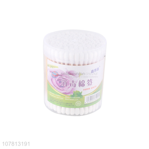 China manufacturer personal care disposable pure cotton swabs