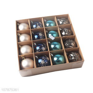 Factory Wholesale 16 Pieces Christams Ball With Good Price