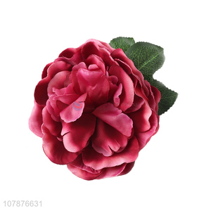 Newest Artificial Flower Hairpin Brooch For Holiday And Party