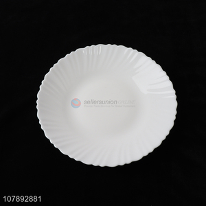 New Arrival Round Glass Plate Fashion Tableware